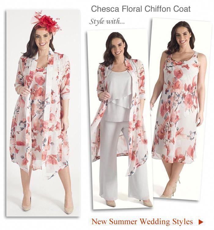 b3ea7443df1 Chesca plus size occasion coat and matching chiffon bias cut dress   FlatteringPlusSizeMotherOfTheBrideDresses