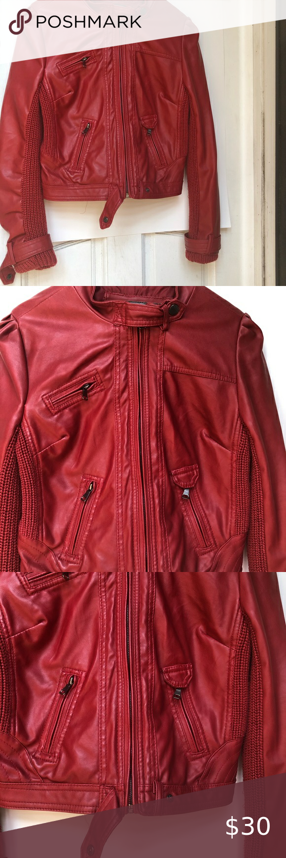 Ci Sono Red Jacket In 2021 Red Jacket Clothes Design Fashion Design