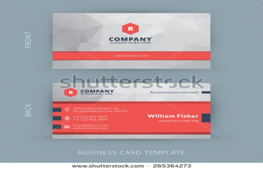 25+ Corporate Business Card Templates In PSD, Word Design 25+ - card templates for word