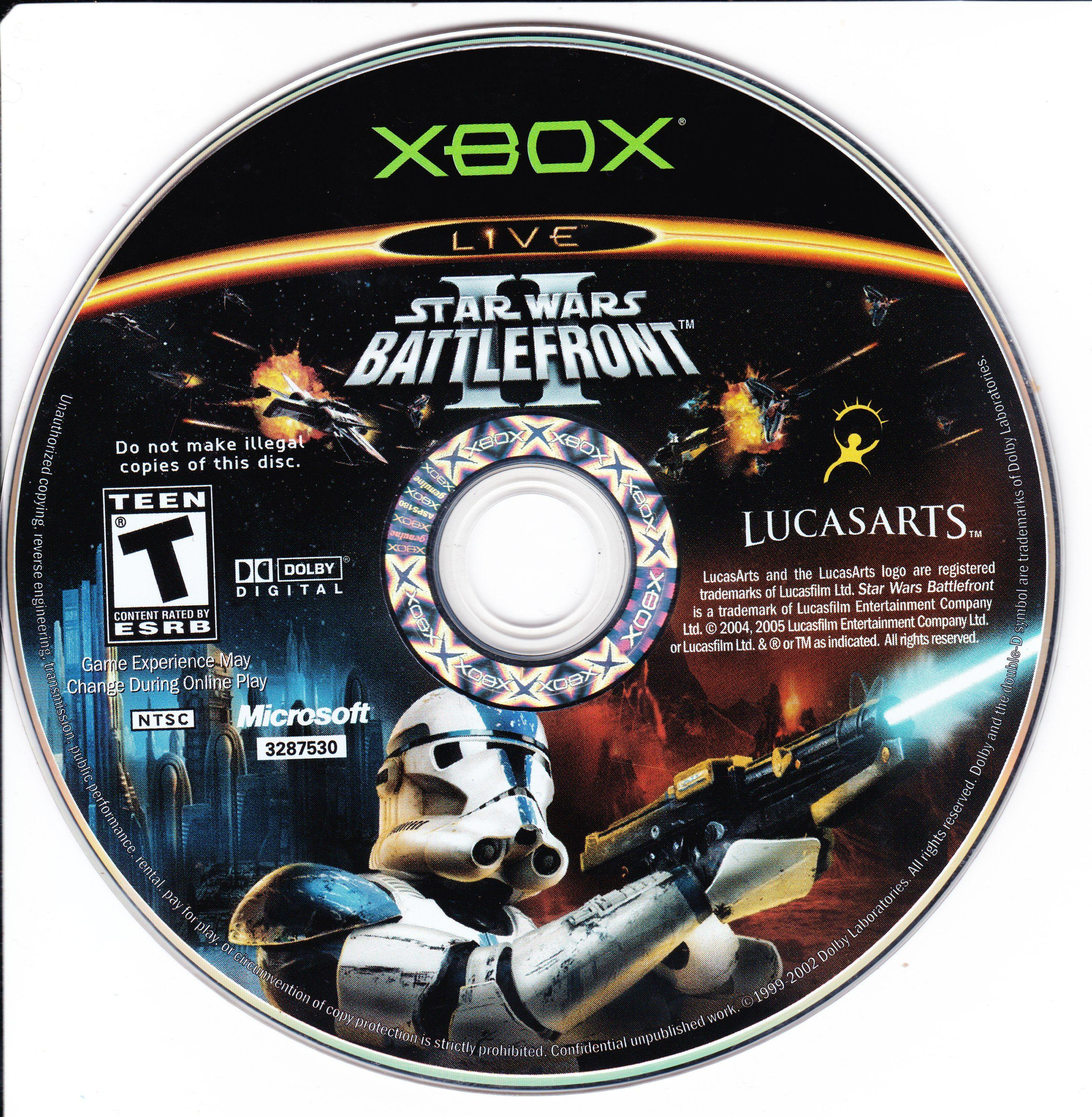Star Wars Battlefront II -2005 original- (Xbox) | Xbox Games