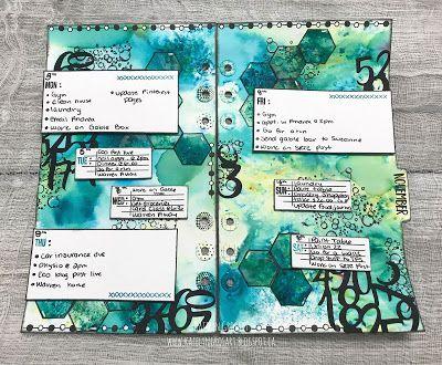 November Week 2 Planner Post Designed For Elizabeth Craft Designs