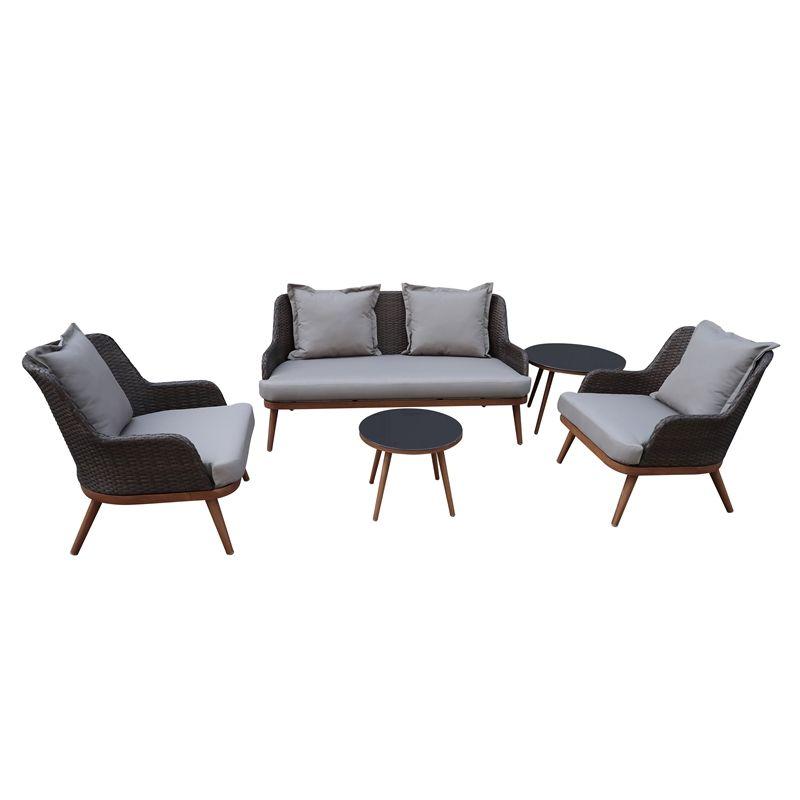 Fleurus Sofa Lounge Garden Furniture Set Corner Sofa