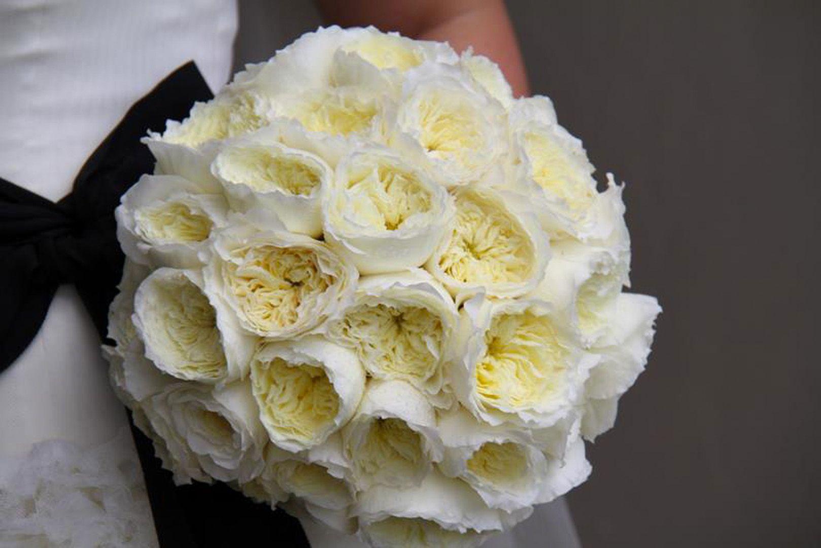Svadobná kytica z anglických ruží