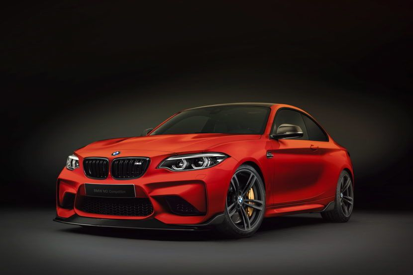 2018 Bmw M2 Competition 410 Hp And Even Sharper Design Bmw M2