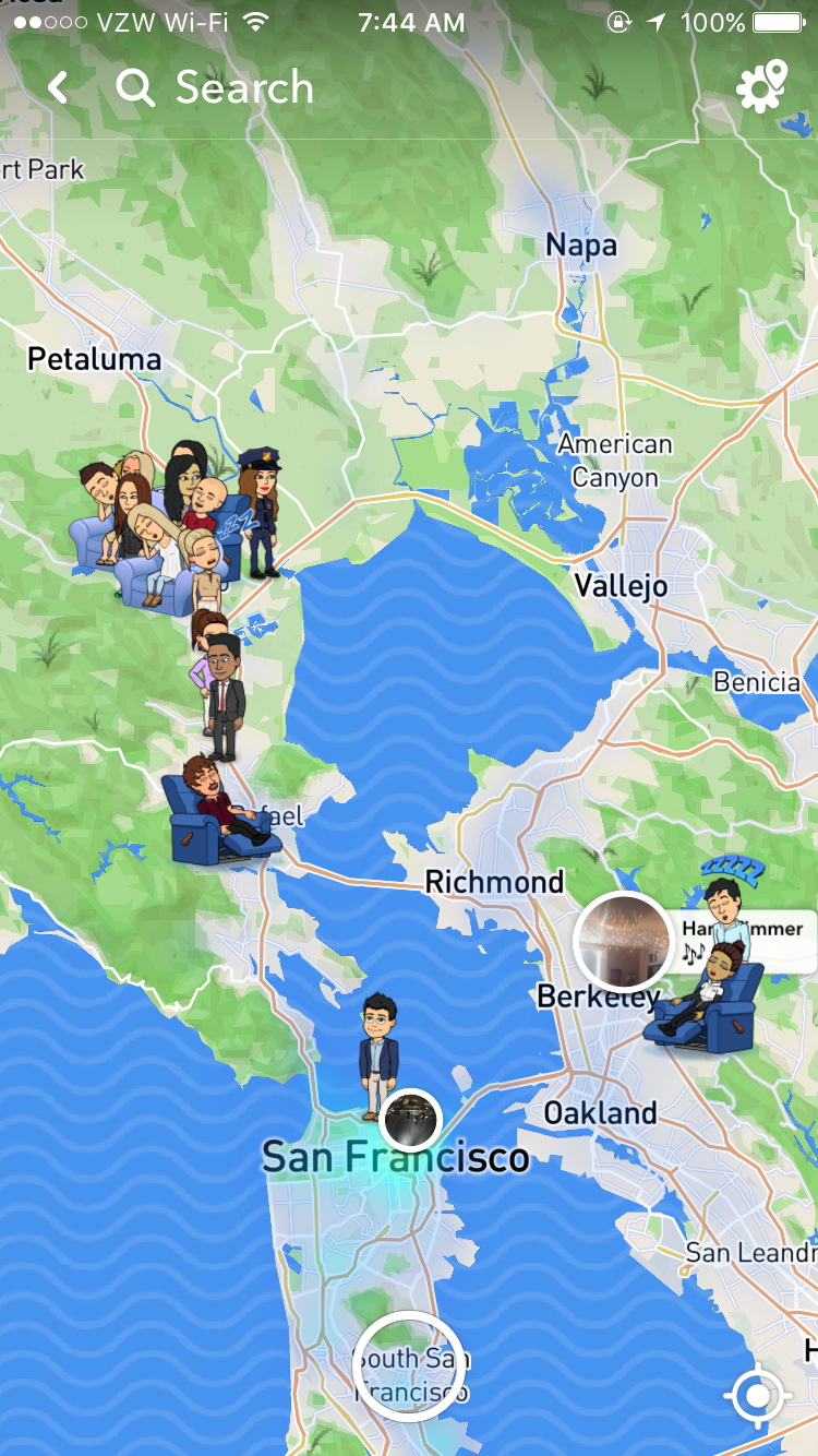How Do You Get To Your Map On Snapchat