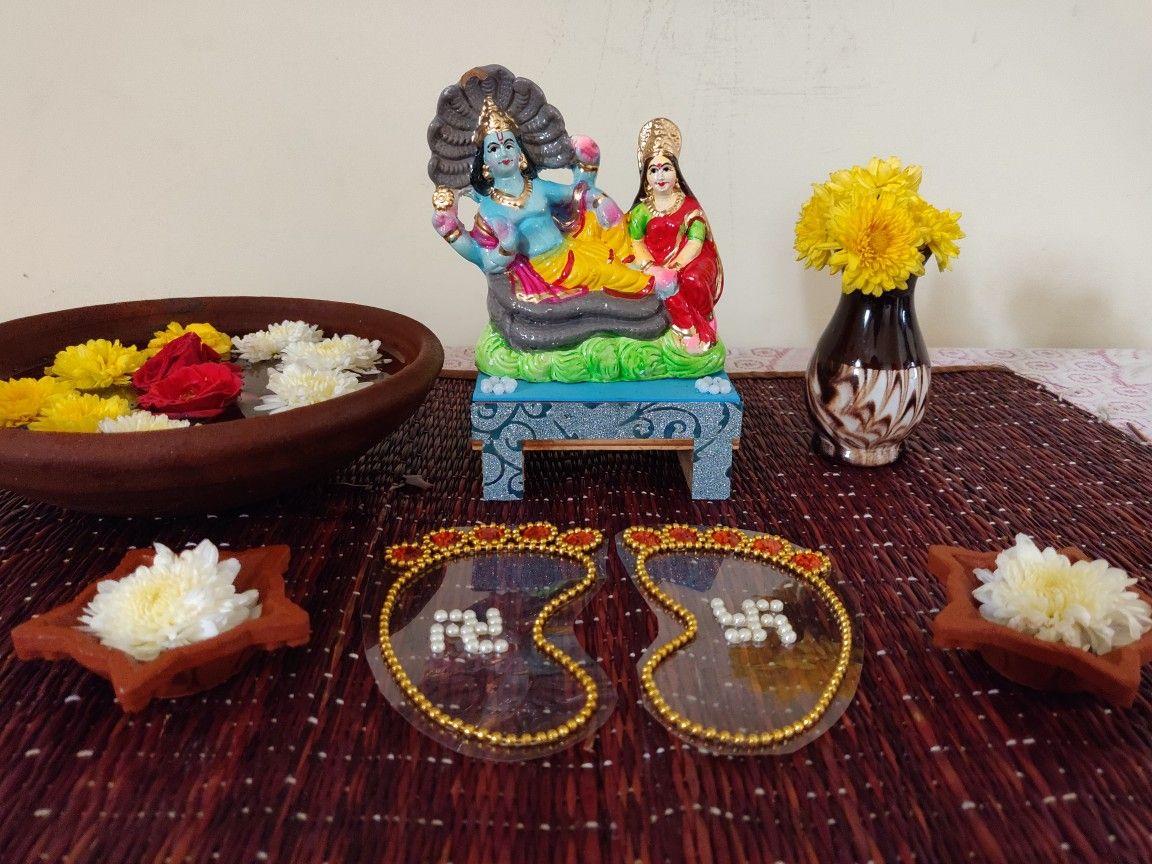 Vaikunta Ekadashi Decoration At My Home Decor Lord Balaji Birthday