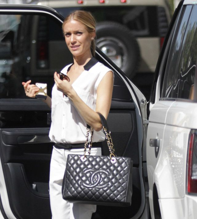 c3da92f4187b chanel GST Chanel Grand Shopping Tote Bag Kristin Cavallari https   www. youtube