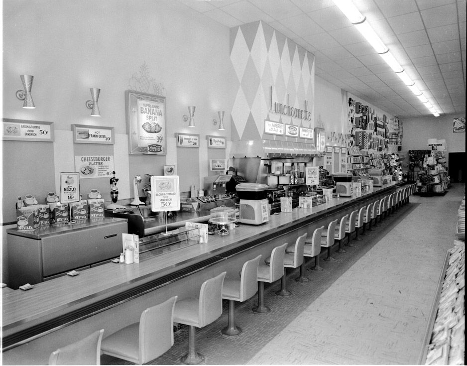 Woolworths Soda Fountain I Remember Going To One Of These As A Kid