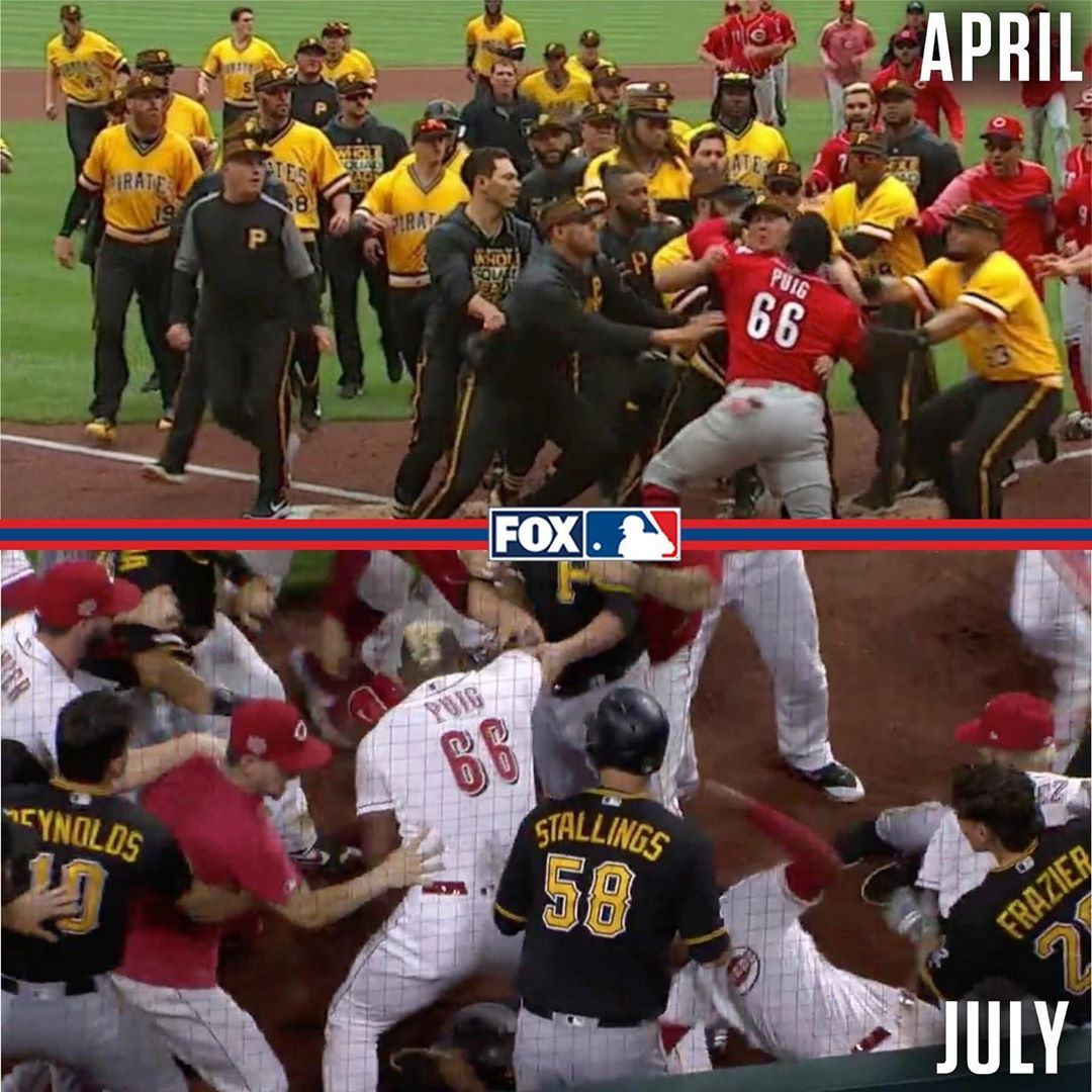 "MLB on FOX on Instagram ""2019 The year of RedsPirates"