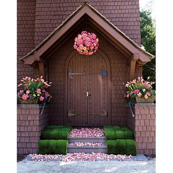 Church Door Decorations for Weddings  sc 1 st  Pinterest & Church Door Decorations for Weddings | Jekyll island Churches and ... pezcame.com