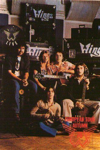 Paul McCartney & Wings @ Olympia,Detroit Wings Over America