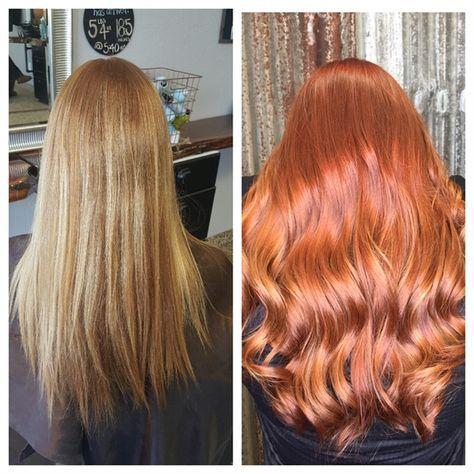 Makeover Back To Copper Light Copper Hair Matrix Hair Color