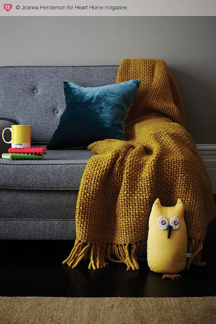 Hearthomemag Co Uk Issue 6 Winter Brights Living Room Grey Mustard Living Rooms Yellow Living Room