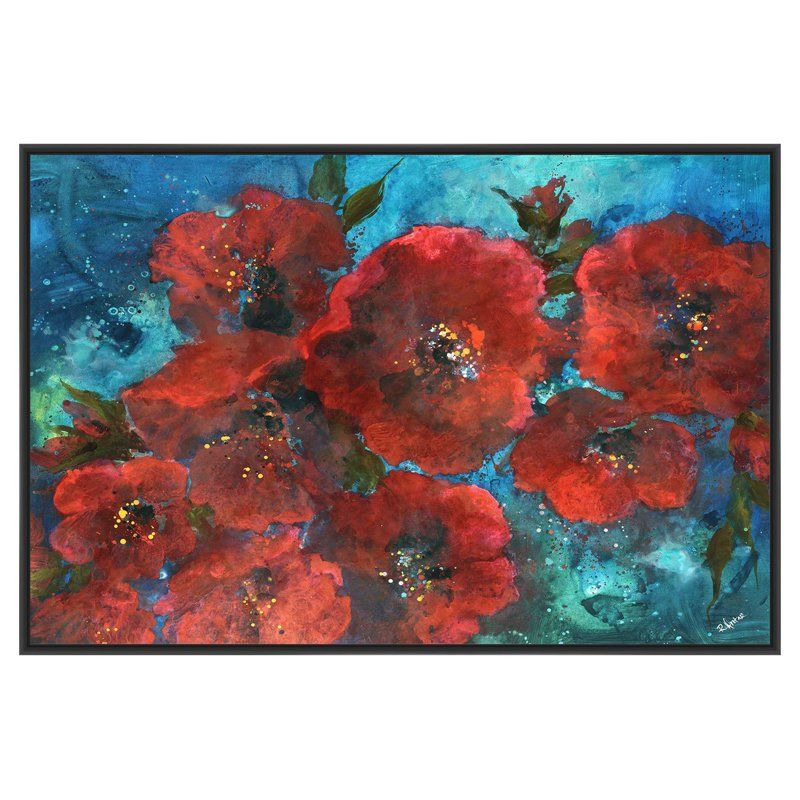 Ptm images in red canvas wall art from hayneedle com