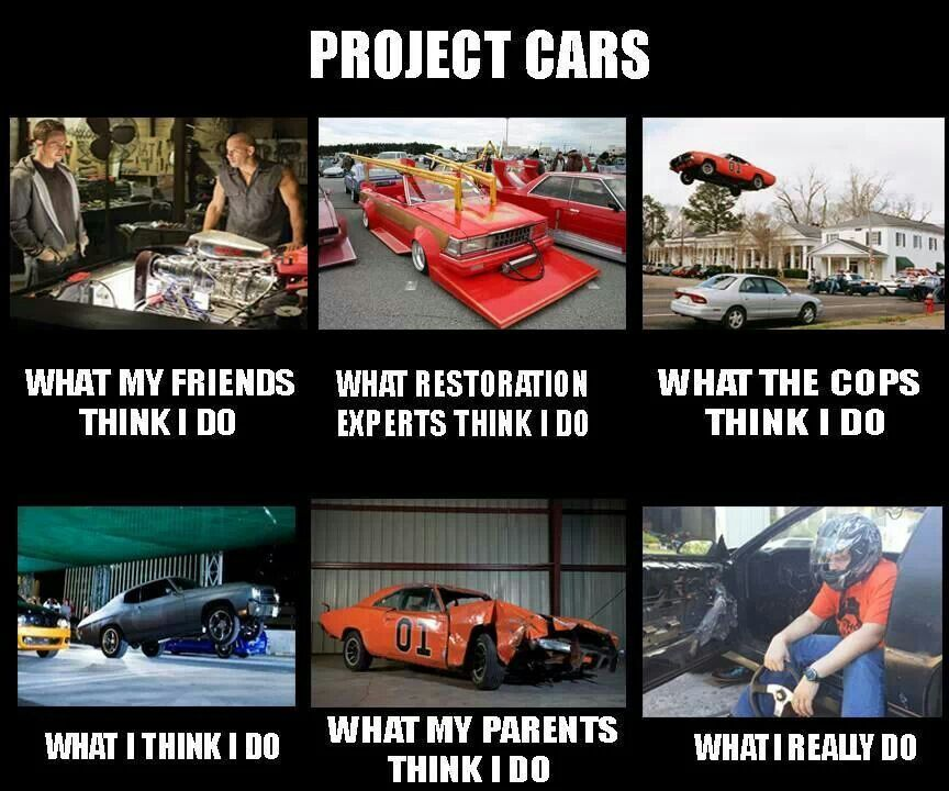 Classic Funny Car Board: Project Car Point Of View
