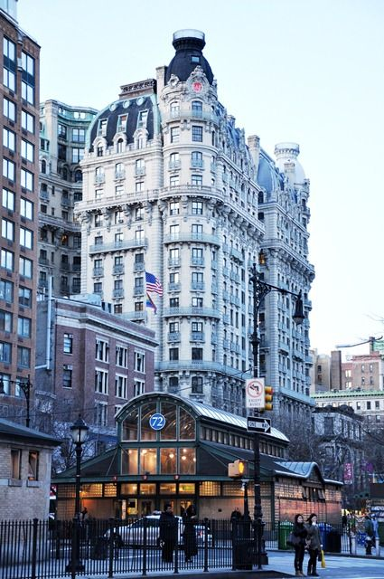 Upper West Side Apartment Building The Ansonia Built By W E D Stokes First Husband Of Beautiful Fashion Icon Rita Lydig