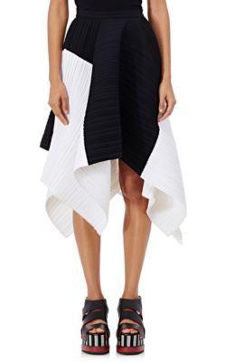 f35c29269 PROENZA SCHOULER Pleated Crepe Asymmetric Skirt. #proenzaschouler #cloth # skirt