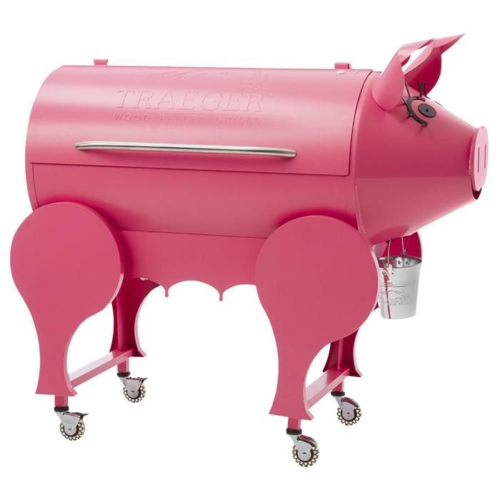Lil' Pig Pellet Grill in Pink | Nebraska Furniture Mart
