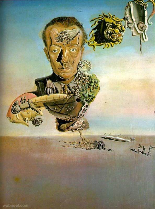 25 Famous Salvador Dali Paintings - Surreal and Optical illusion ...
