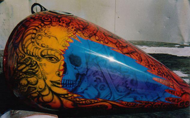 Custom Motorcycle Painting -- Custom Painting by Horst