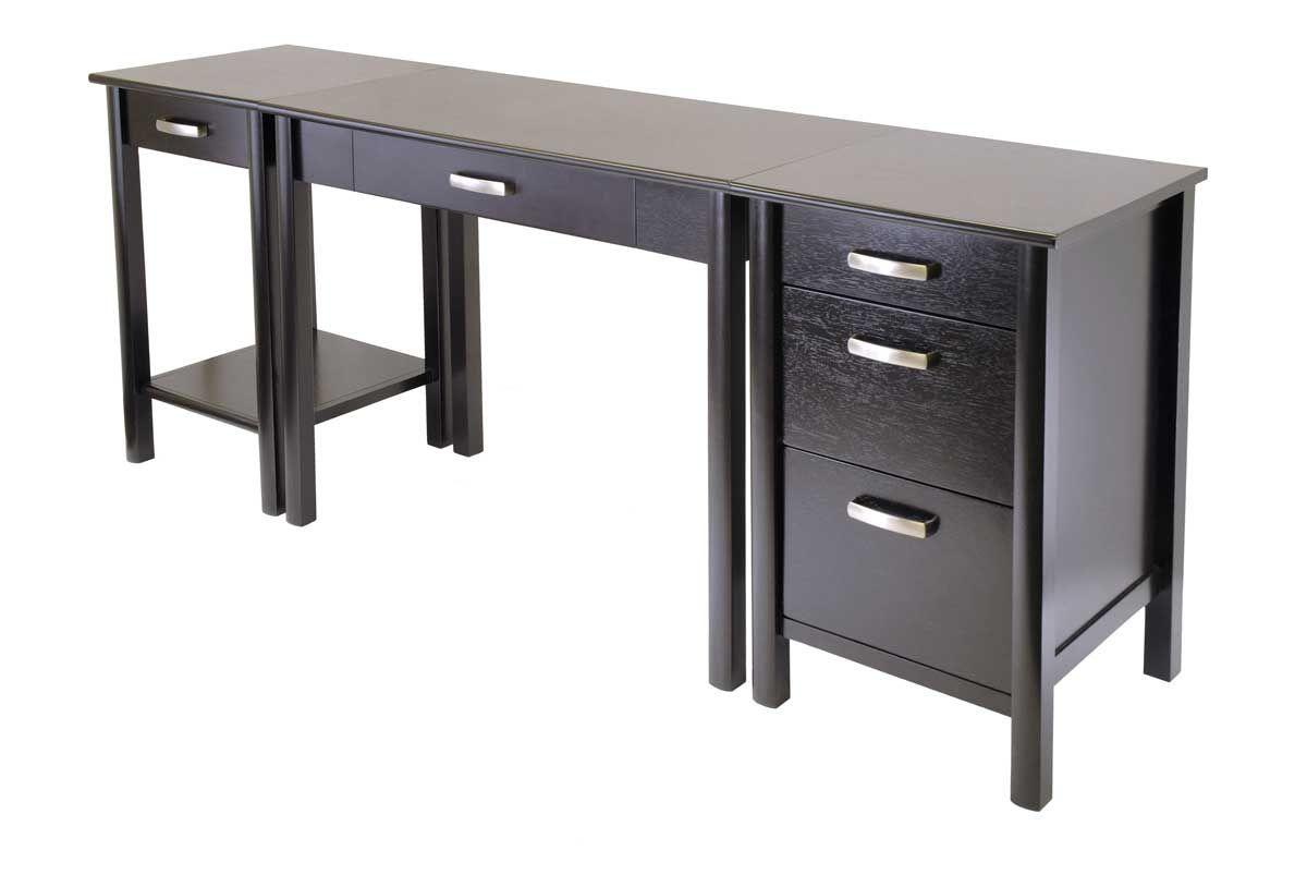 innovative dark glass modern computer desk modern computers pinterest desks modern and living room ideas