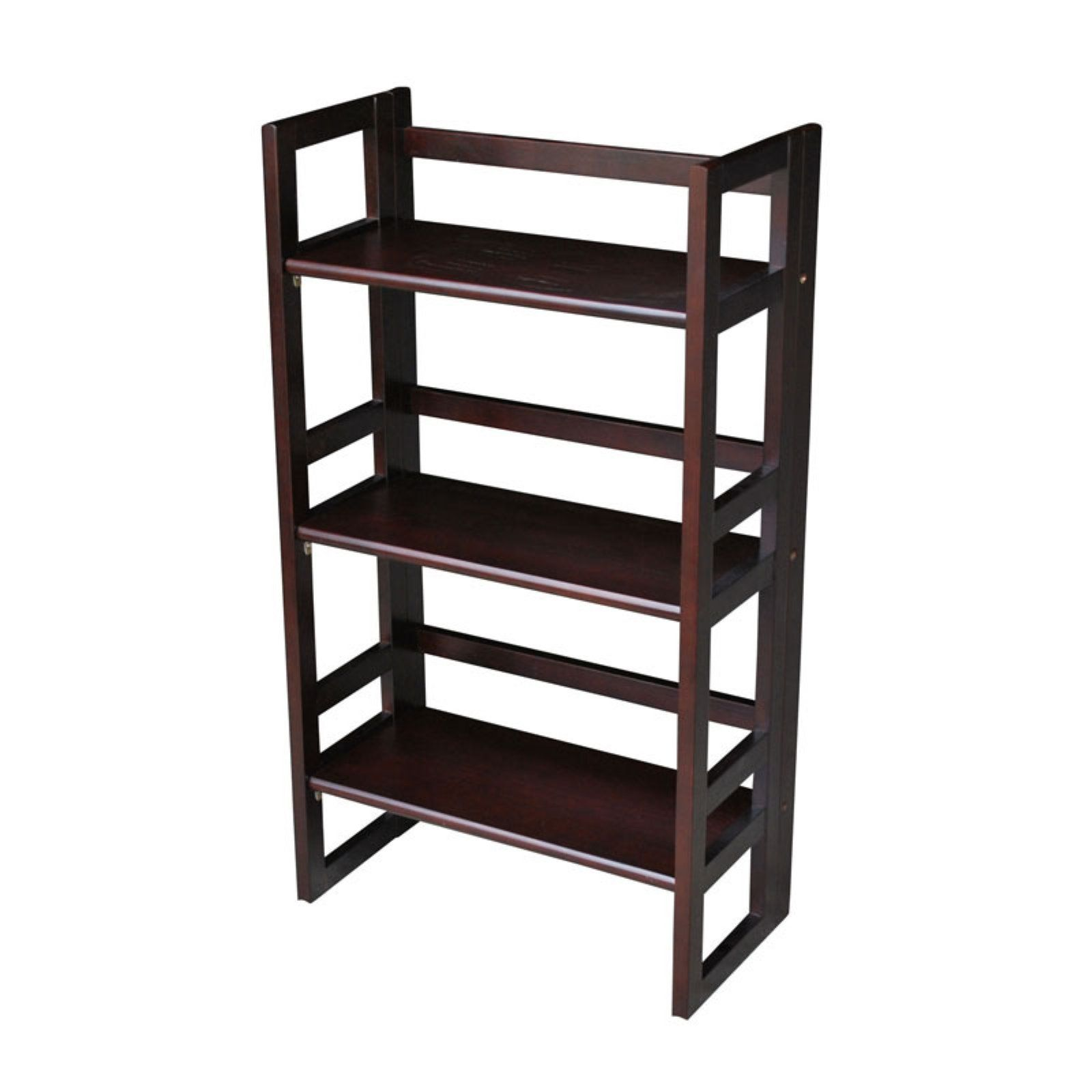 3 tier folding student bookcase espresso in 2019 products rh pinterest com