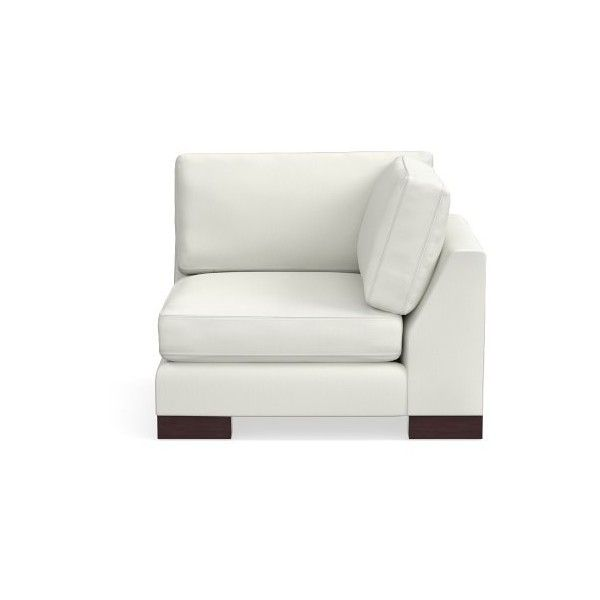 williams sonoma yountville sectional corner chair wood feet standard rh pinterest cl