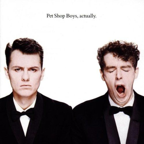 Pet Shop Boys Actually 1987 Pet Shop Boys Cool Album Covers