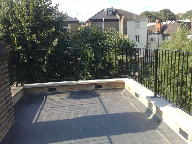 Ferrum Metal | Metal Railings London | Roof Terrace Railing   West Hampstead