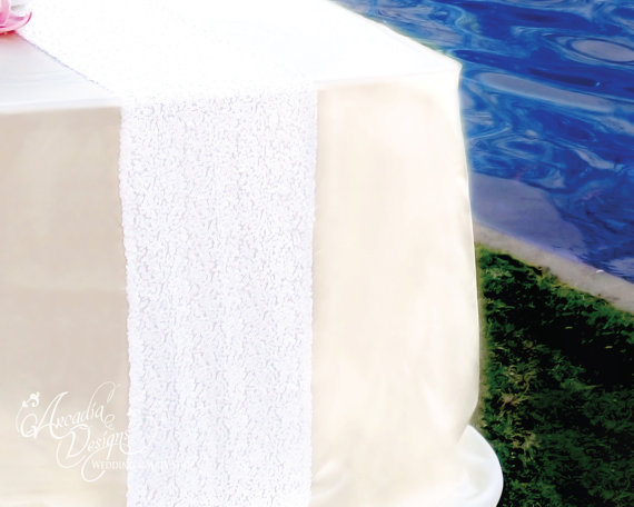 White Sequin Table Runner Shimmery Snow For Wedding Party Dinner Reception Event Bridal Shower Ready To Ship
