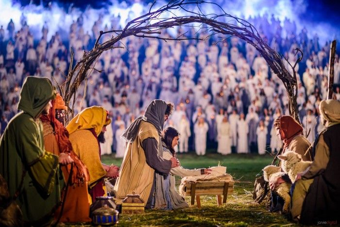 2014 Live Nativity  - My girls got to participate with the Mormon Tabernacle Choir as angels in that backdrop!  Amazing Memories for all eternity!  Thanks to all!
