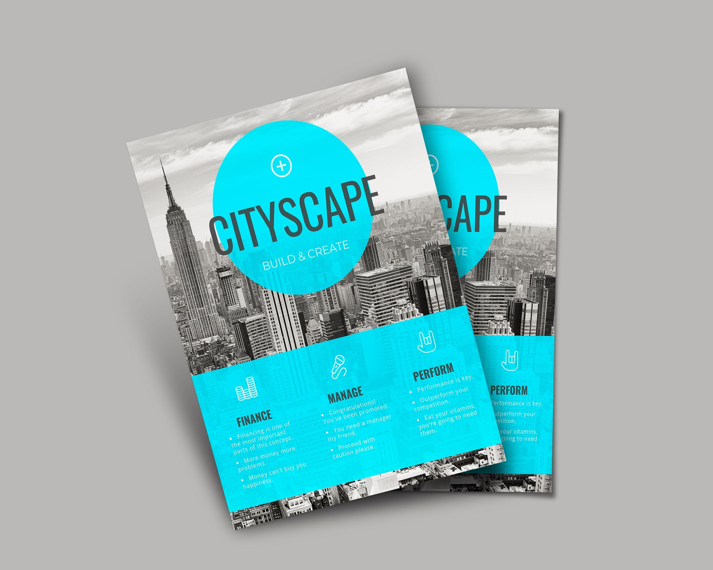 8 marketing flyer inspiration examples templates 6 simple