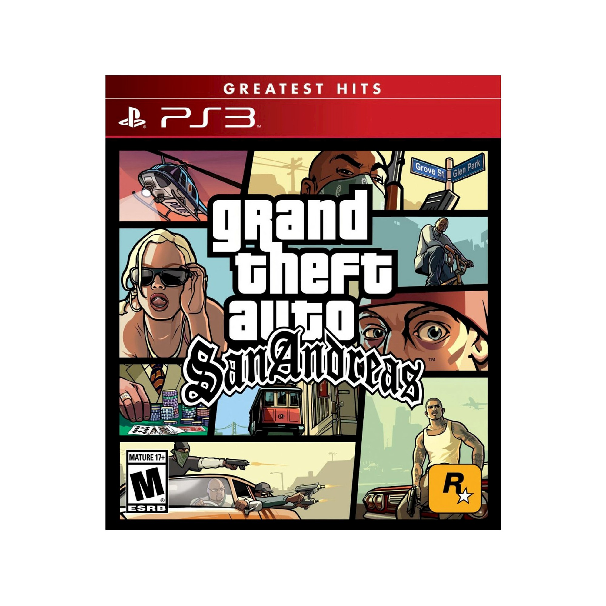 Grand Theft Auto: San Andreas Pre-Owned PlayStation 3