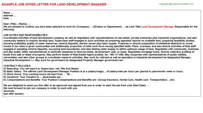 Php Developer Offer Letter