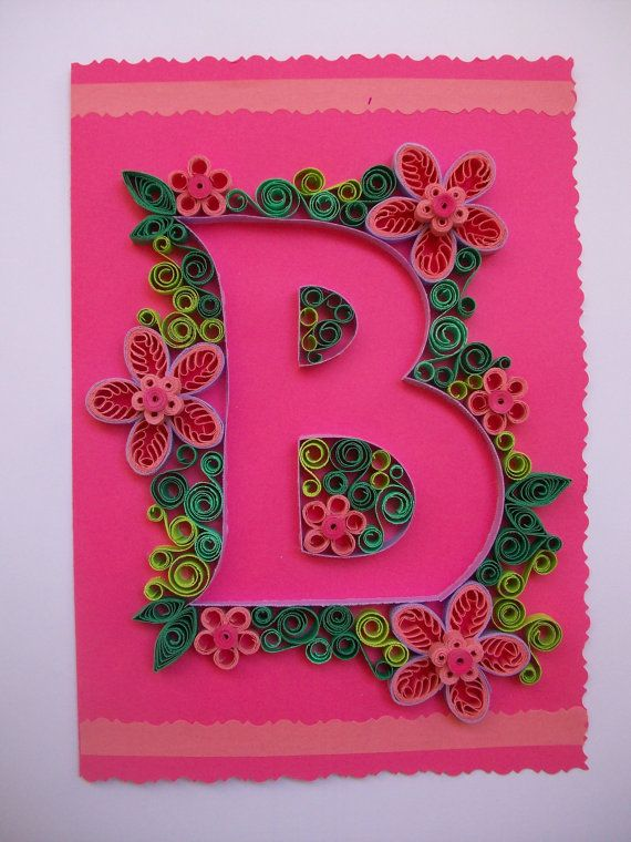 Carta quilling Quilling Quilled carte carta Paper di HandmadeTedy