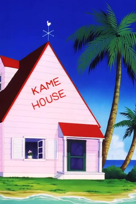 7de0119bf Kame House | Fantasy | Science Fiction | Dragon ball, Dragon ball z ...