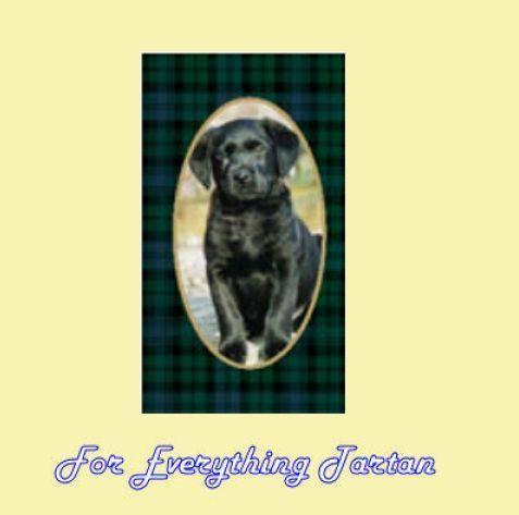 Black Watch Tartan Black Labrador Small Spiral Spiral Notebook  $7.00 at For Everything Tartan