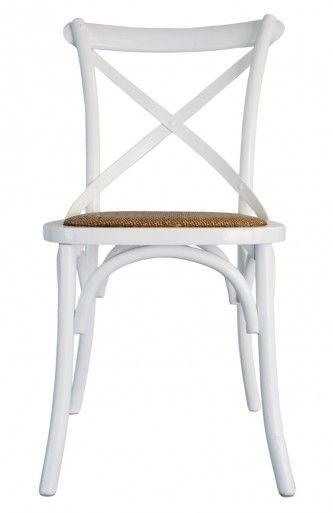 provincial crossback chair white rental furniture white dining rh pinterest com