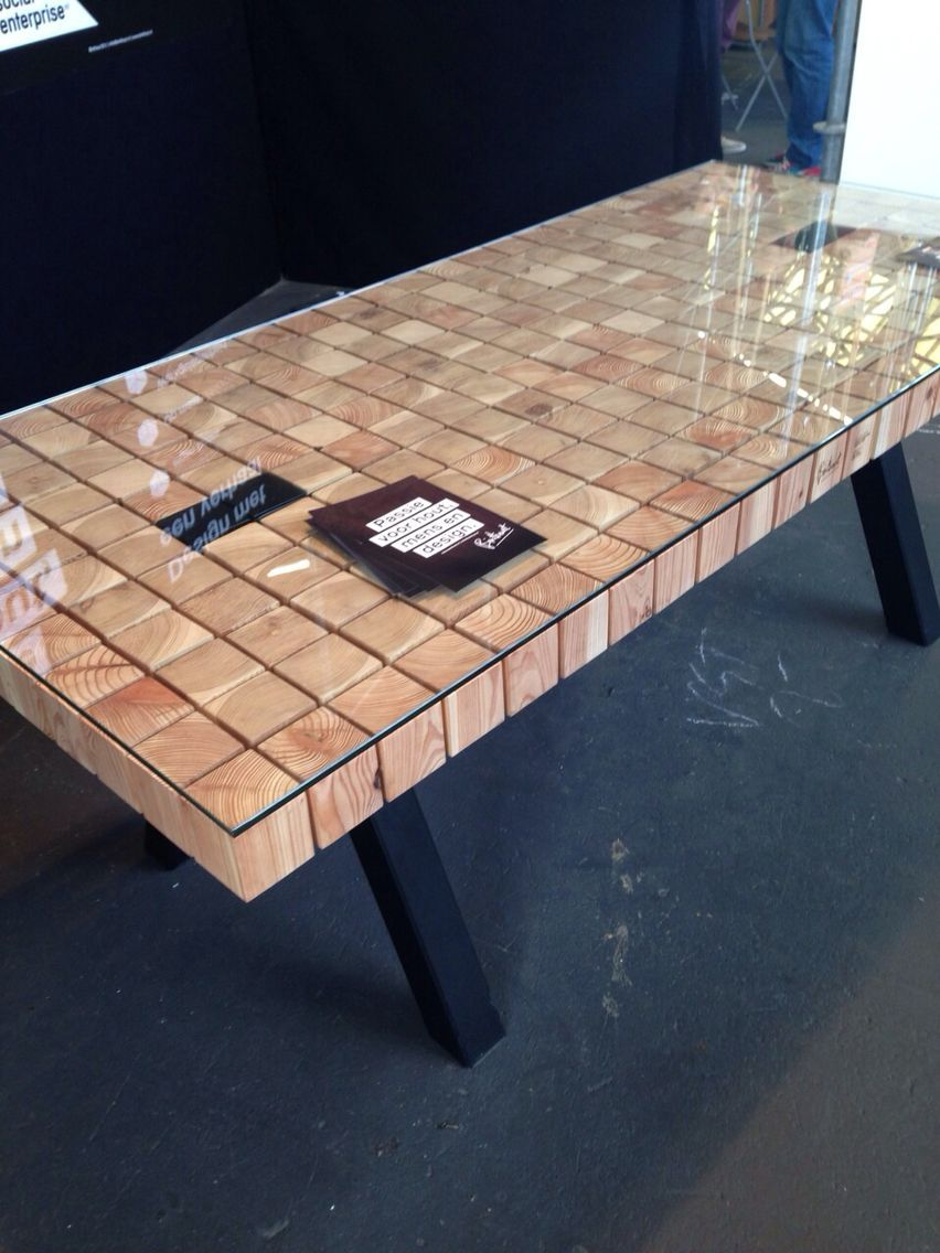 woonbeurs diy furniture wood table table furniture rh pinterest com