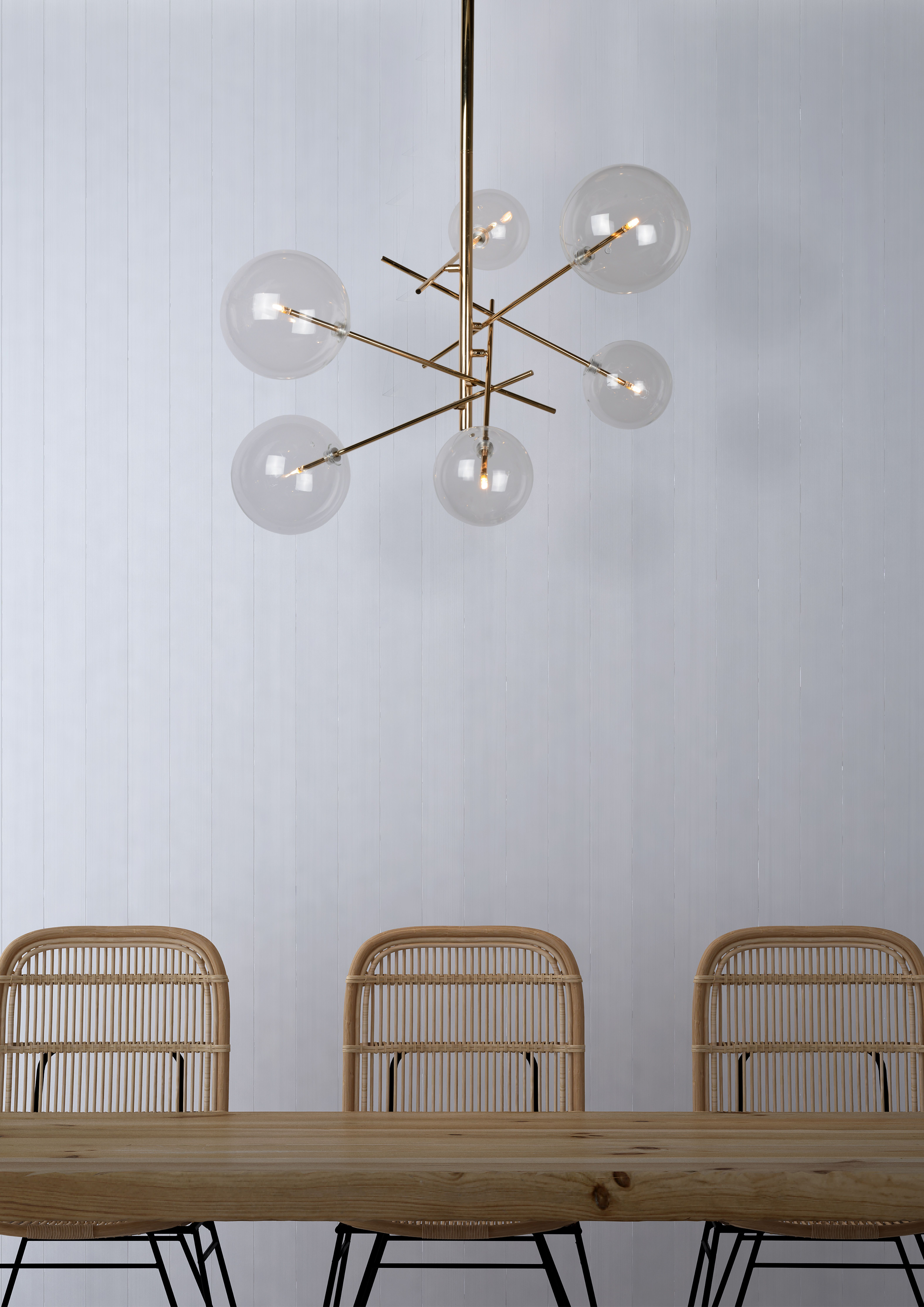 Charis 5 Light Shaded Chandelier