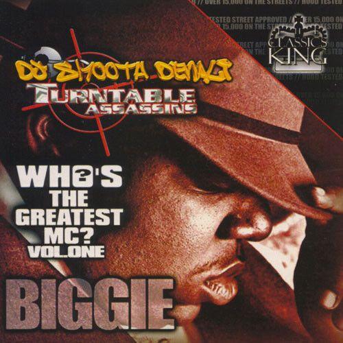 Biggie Smalls Who's The Greatest MC Vol  1 Collection Mixtape CD
