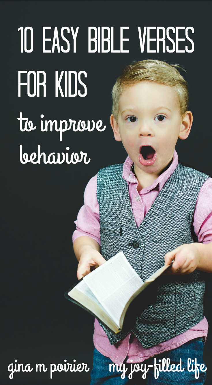 10 easy bible verses for kids u2014to improve behavior bible parents