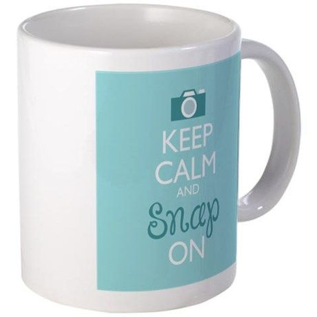 Keep Calm and Snap On Mugs on CafePress.com