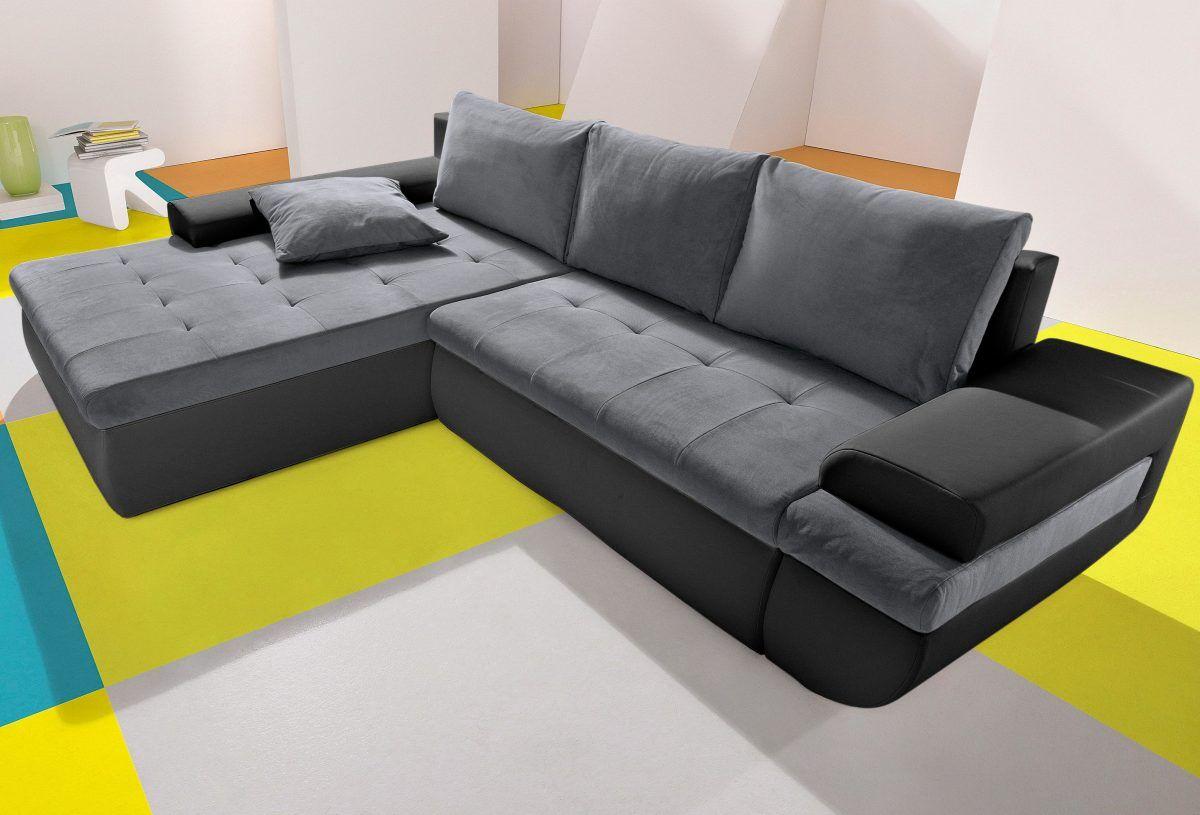 Wunderbar Polsterecke Mit Relaxfunktion Galerie Von Inosign Grau, Xxl Recamiere Links, Fsc®-zertifiziert, Ive