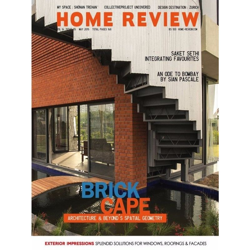Home review may 2015 issue brick cape architecture