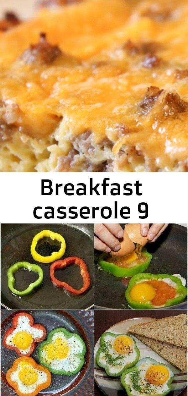 Breakfast casserole 9 #breakfastslidershawaiianrolls