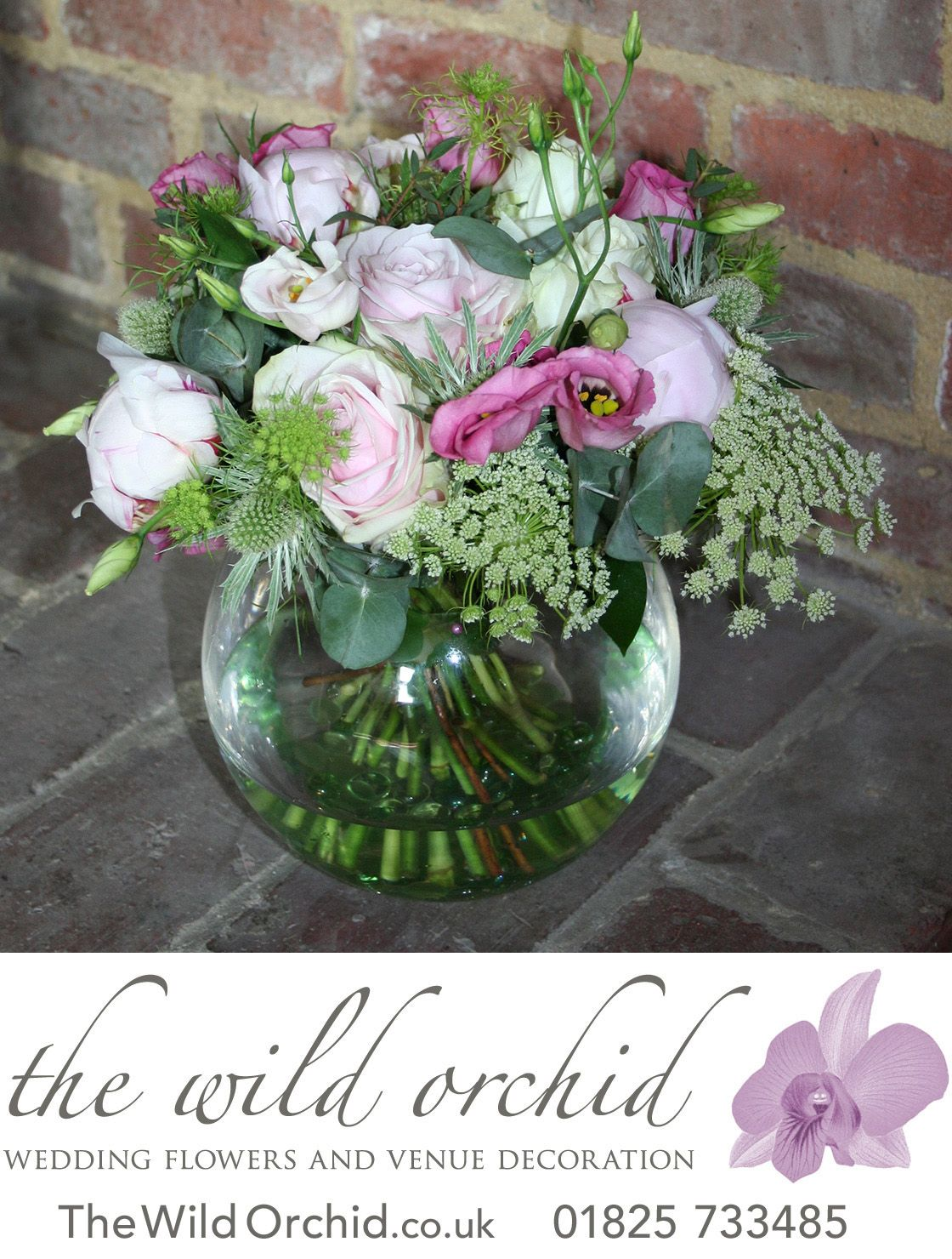 handtied mix of country flowers in pinks and whites with silver grey rh pinterest com