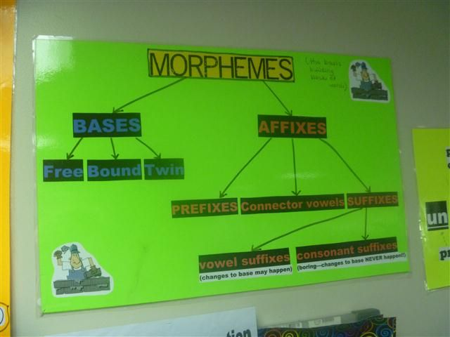 Morphemes Flow Chart Word Inquiry in the Classroom Pinterest - flow chart word