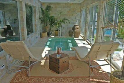 100+ Amazing Small Indoor Swimming Pool Design Ideas   Small indoor ...