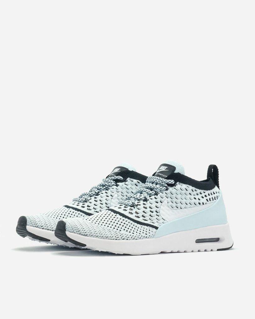 Nike AIR MAX THEA ULTRA FLYKNIT BlueWhiteBlack